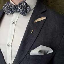 Золотая булавка — лучший аксессуар делового костюма