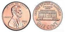 История цента США