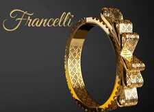 Итальянские золотые украшения Francelli