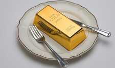Пять оригинальных блюд и напитков, в составе которых есть золото