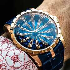 История и популярные модели часов Roger Dubuis