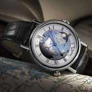 Мужские часы Breguet Classique 5717 Hora Mundi: красота и функциональность