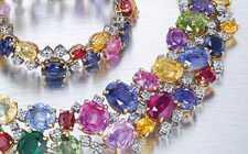 Сочетание бриллиантов с другими драгоценными камнями