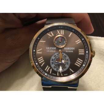 Часы Ulysse Nardin MAXI MARINE CHRONOMETER (Швейцария)
