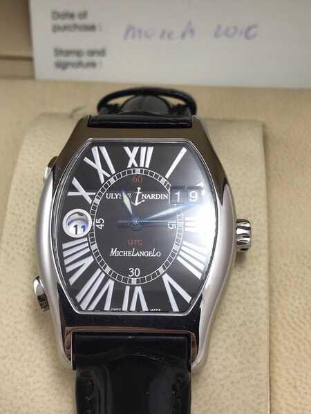 Часы Michelangelo UTC Dual Time