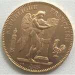 Монета 50 франков 1904 года (Франция)