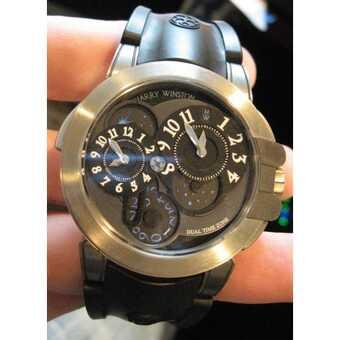 Часы Harry Winston Ocean Dual Time Project Z4 ltd