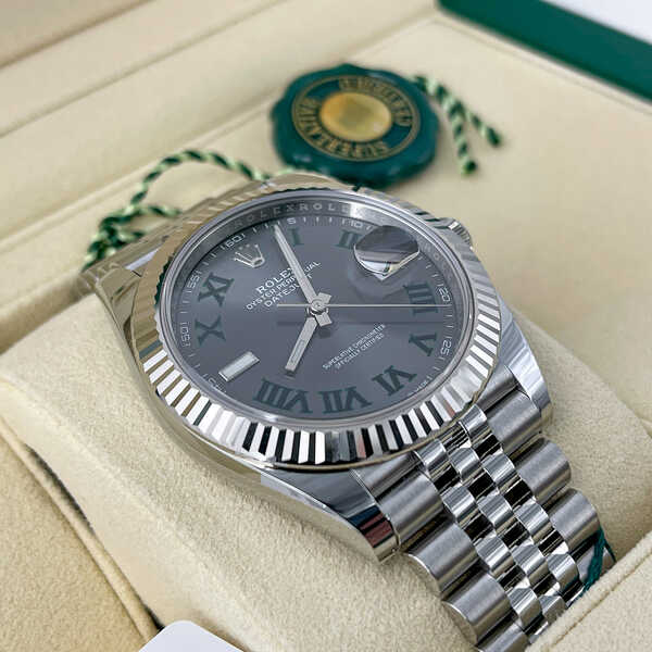 Часы Rolex Datejust 41mm Steel and White Gold (897)