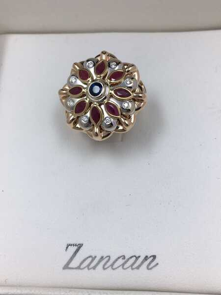 Кольцо Zancan 16,25