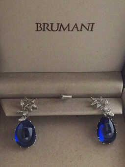 Серьги Brumani