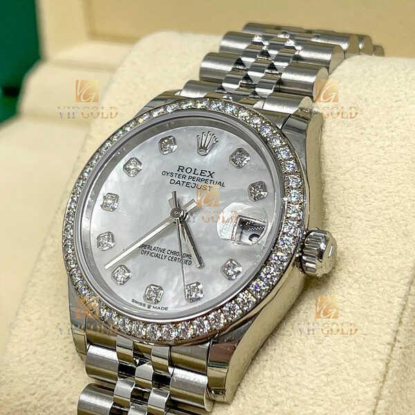 Часы Rolex Datejust Datejust 31mm Steel and White Gold (978)