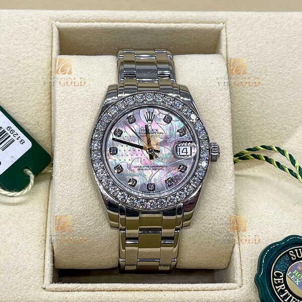 Часы Rolex Pearlmaster White Gold 34 mm (987)