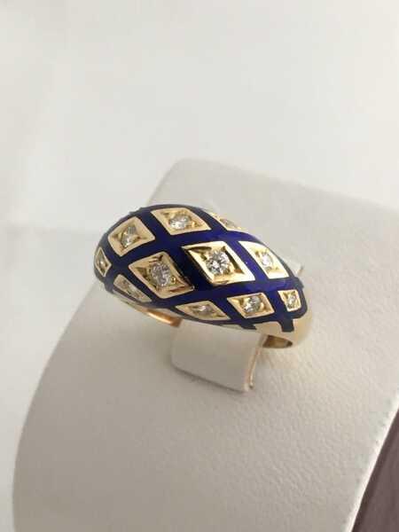 Кольцо Faberge