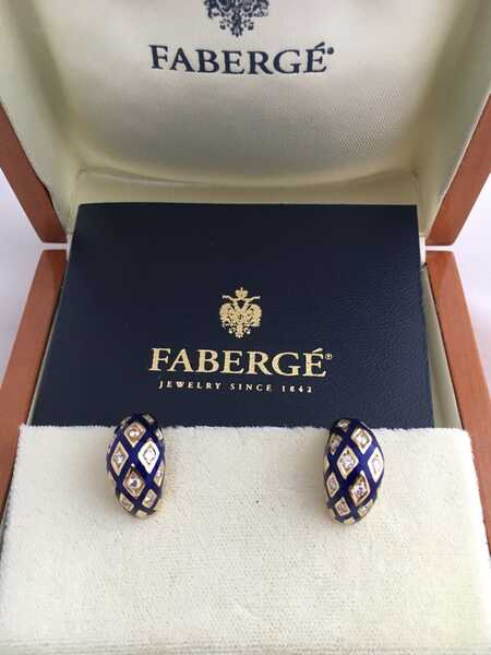 Серьги Faberge