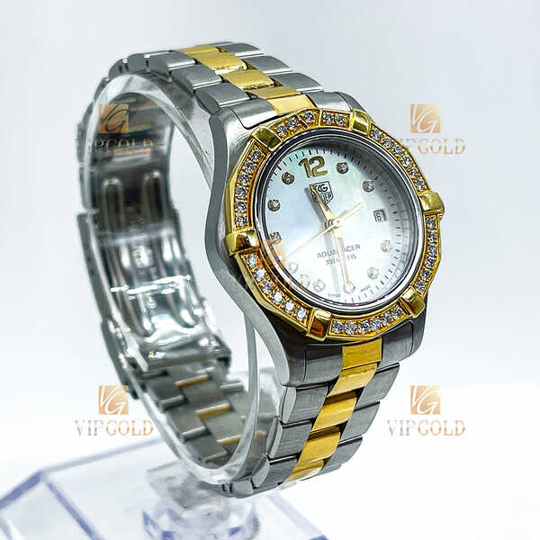 Часы TAG Heuer Aquaracer Diamond Dial and Bezel 27 mm (1007)