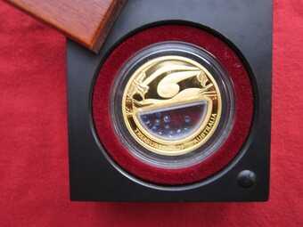 Монета Сапфиры