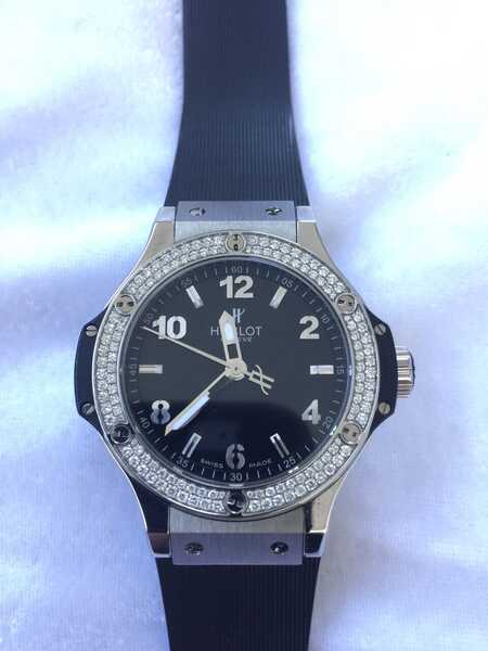 Часы Big Bang Steel Diamonds