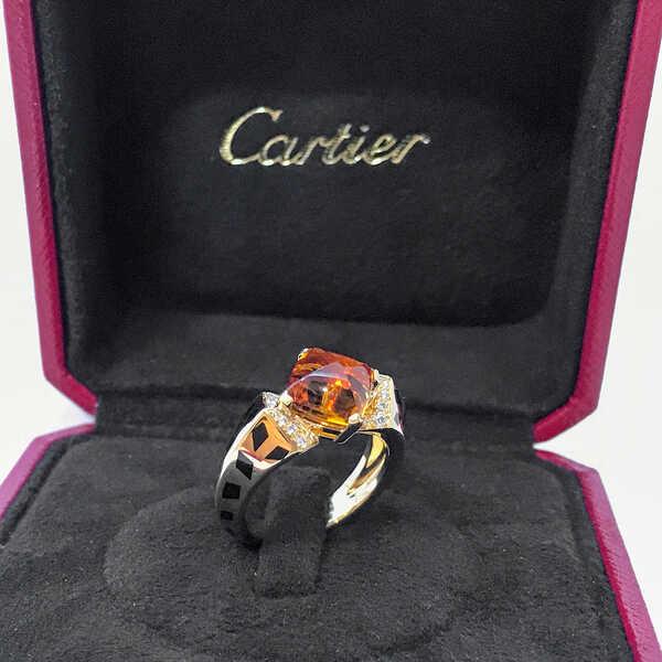 Кольцо Cartier Citrine Panthère