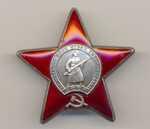 Комплект боевых наград. Ордена А. Невского, ОВ 2ст., Редкая разновидность без  клейма