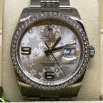 Часы Rolex Datejust 36mm Steel and White Gold.