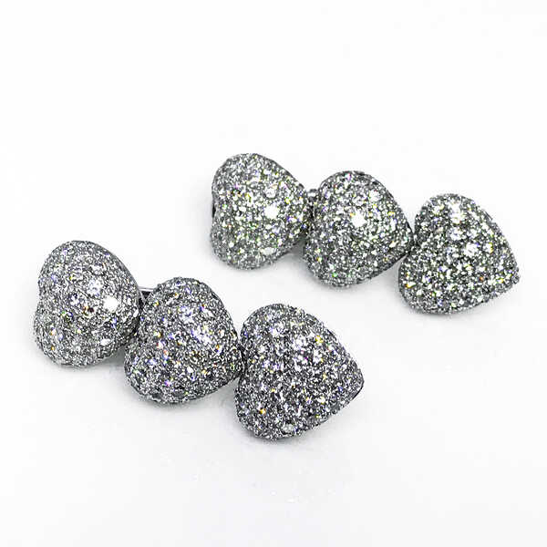 Серьги de GRISOGONO Diamond Heart