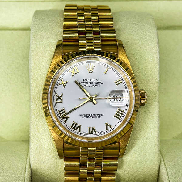 Часы Rolex Datejust Pyramid Ivory Dial (810)