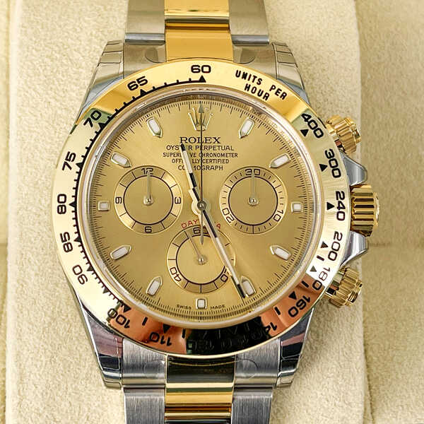 Часы Rolex Cosmograph Daytona 40mm Steel and Yellow (857)