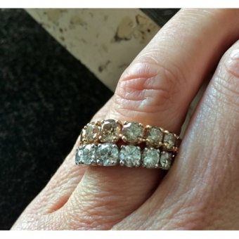 Кольцо Сrivelli 18k Diamond