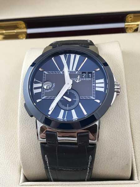 Часы Dual Time