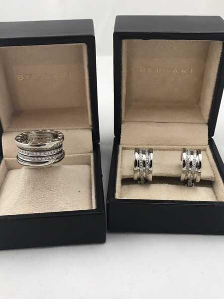 Кольцо и серьги Bvlgari