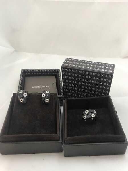 Комплект кольцо и серьги Roberto Coin