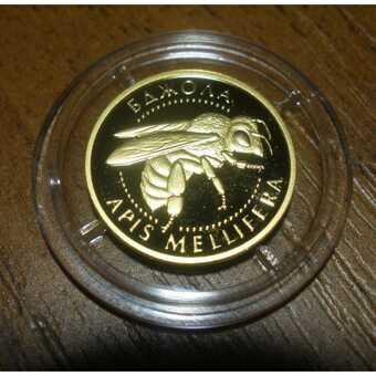 Монета Пчела