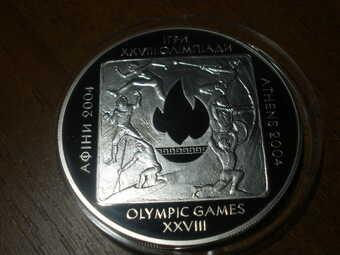 Игры 28-ой Олимпиады в Афинах
