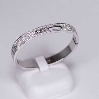 Браслет Messika Move Joaillerie Pave Bangle