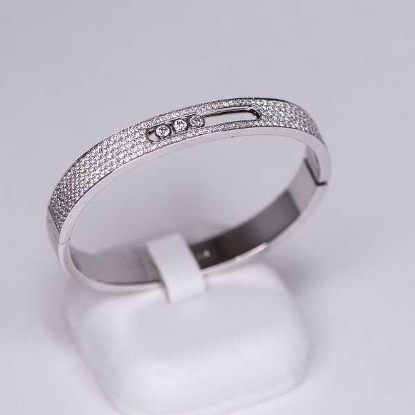 Браслет Messika Move Joaillerie Pave Bangle (586)