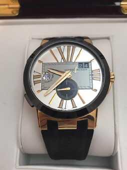 Часы Ulisse Nardin Executive Dual Time
