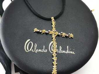 Подвеска-крест Orlando Orlandini