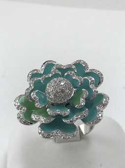 Каблучка Crivelli Flower