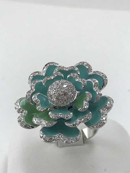 Кольцо Crivelli Flower