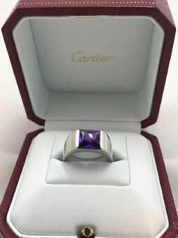 Каблучка Cartier Tank