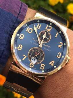 Часы Ulysse Nardin Marine Maxi Marine Chronometer