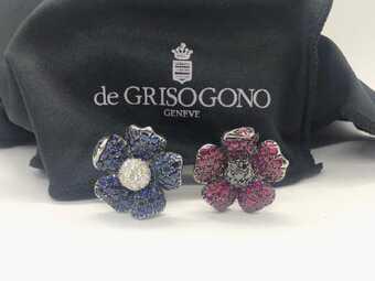 Сережки De Grisogono Flower
