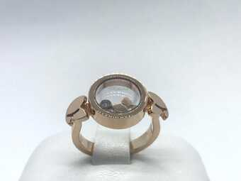 Каблучка Chopard Happy Diamonds Ring