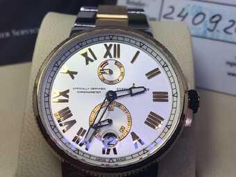 Часы Ulysse Nardin Marine Chronometer Manufacture