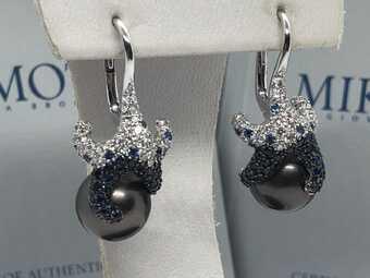 Сережки Mikimoto Collection Starfish