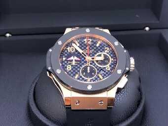 Часы Hublot Big Bang Gold Ceramic Yacht Club Monaco