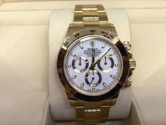 Часы Rolex Daytona Cosmograph Daytona 40 mm Yellow Gold