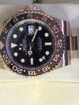 Часы Rolex GMT Master II 40 mm Everose Gold