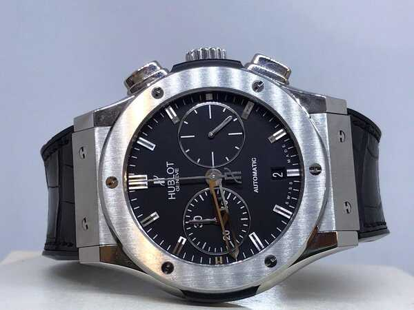 Часы Hublot Classic Fusion Chronograph Titanium