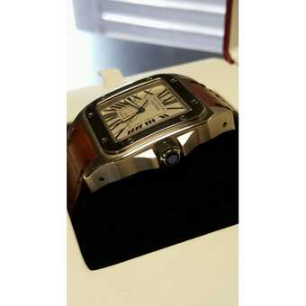 Часы Cartier Santos 100 XL Gold & Steel